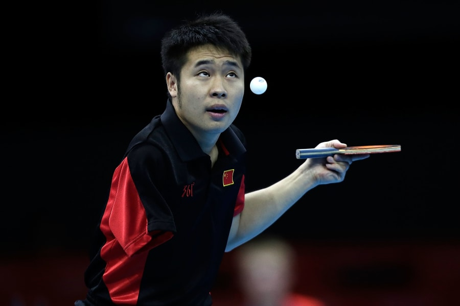 lin ma paralympics table tennis