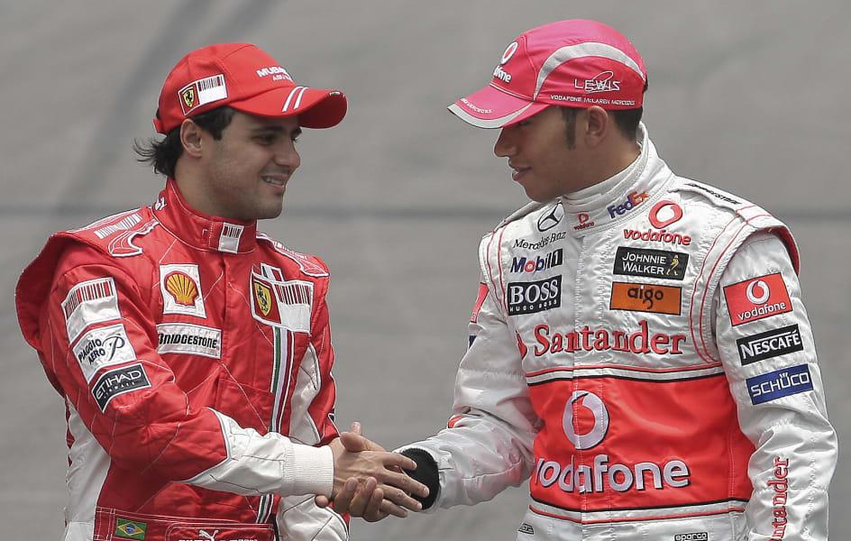 Hamilton Massa f1