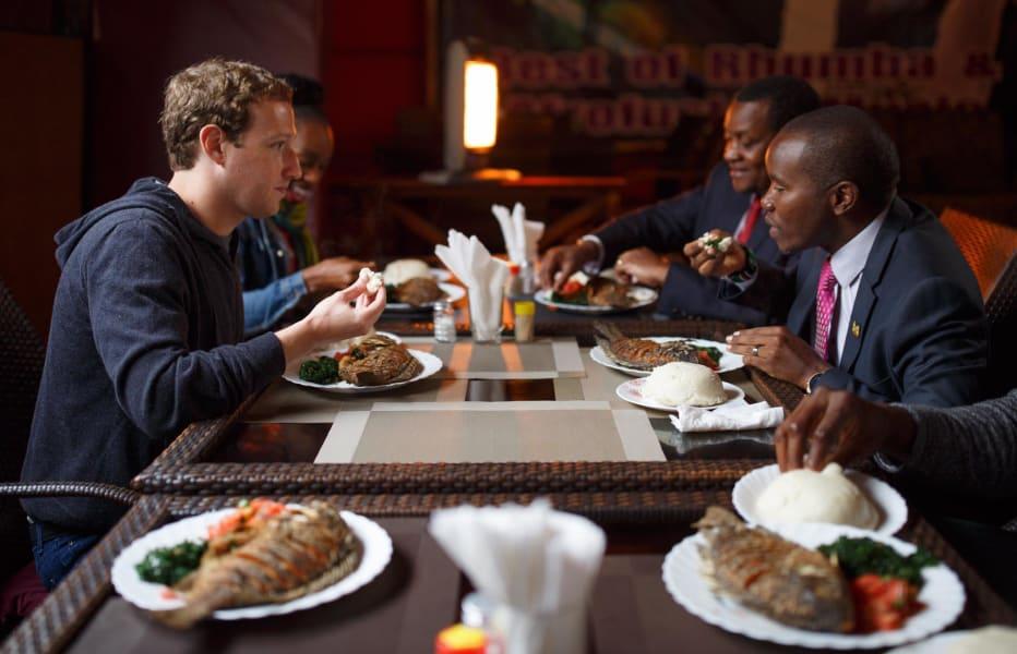 Zuckerberg Joseph Mucheru