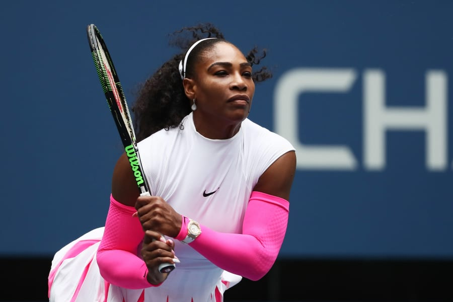serena williams us open round three