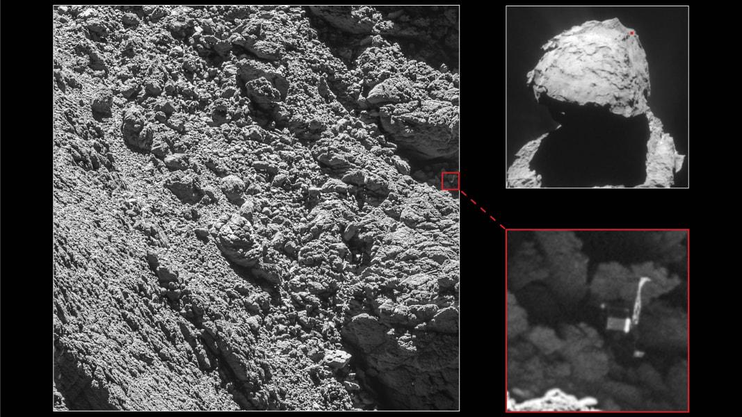01 Philae lander found