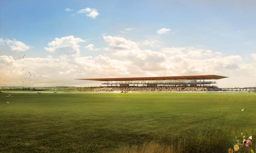 Curragh new grandstand proposal