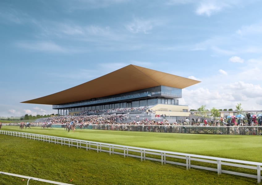 Curragh racecourse new grandstand