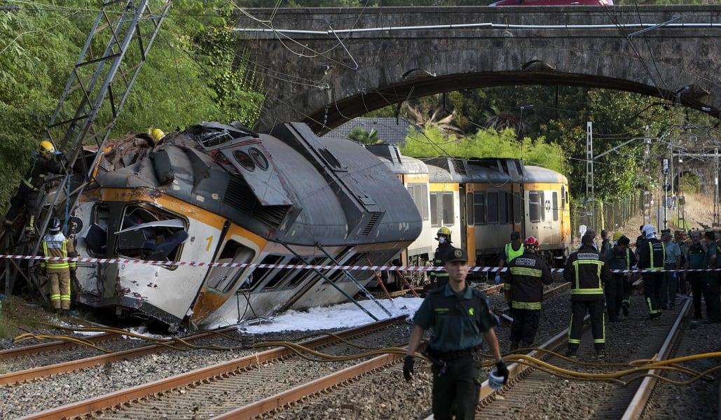 02 spain train crash RESTRICTED