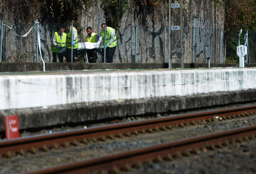 14 spain train crash