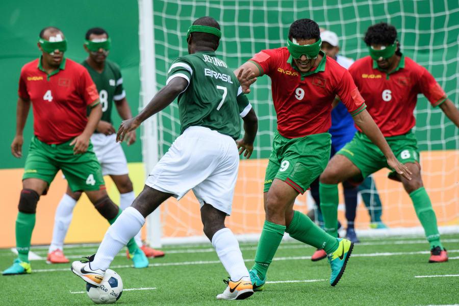 Brazil marocco Paralympics
