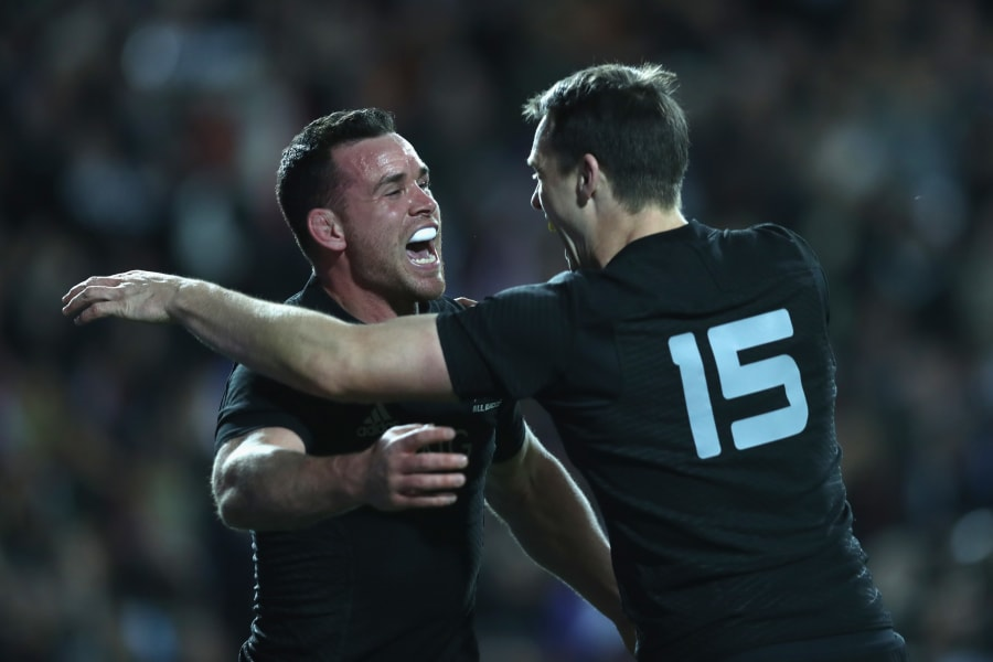 Ryan Crotty of the All Blacks Rugby Championship