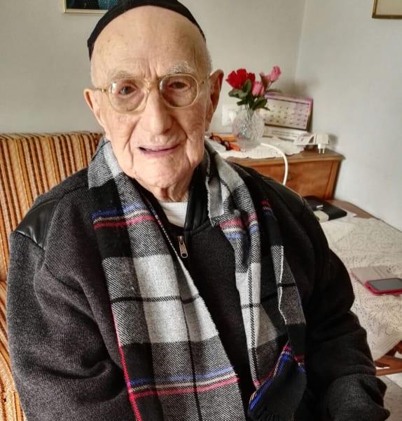 Yisrael Kristal worlds oldest man