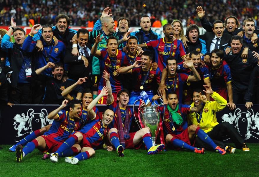 Barcelona champions league final 2010/11