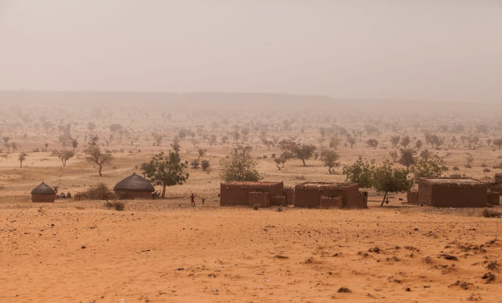 Barren sahara