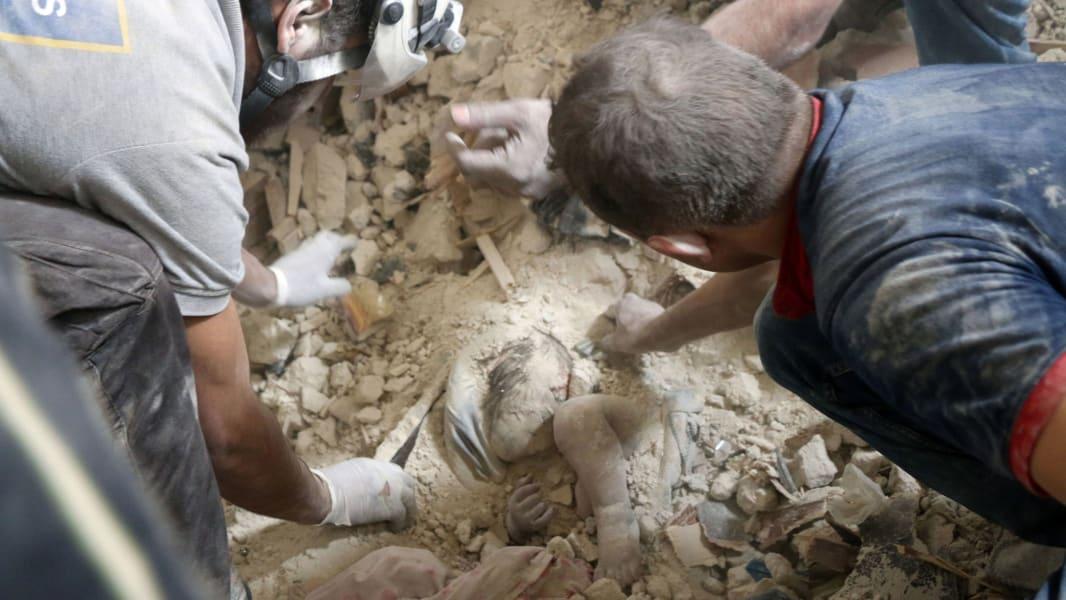 06 syria airstrike white helmets