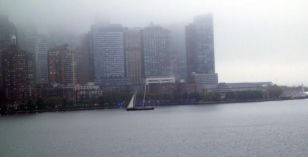 america new york fog