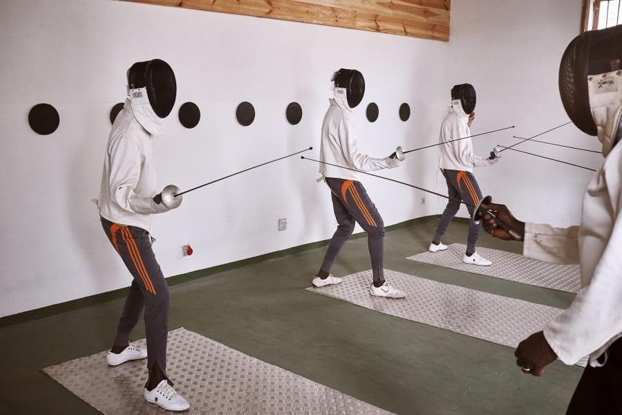 Fencing Senegal Card 2