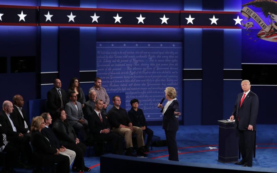 22 second presidential debate 100916