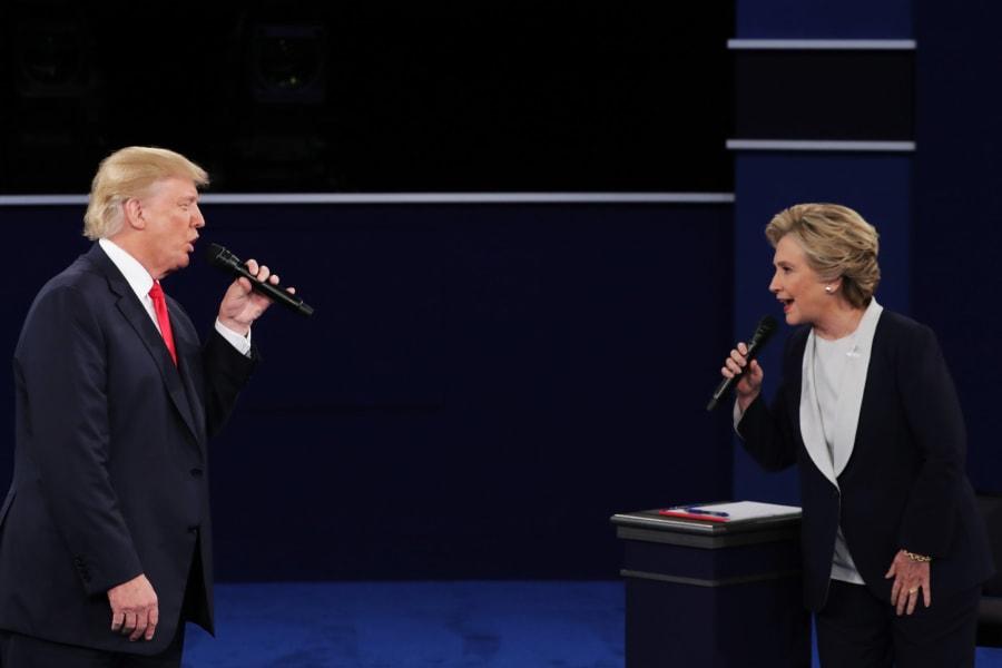 25 second presidential debate 1016
