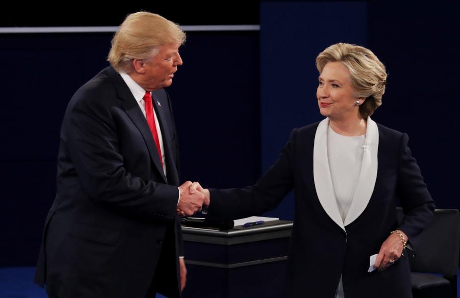 31 second presidential debate 1016