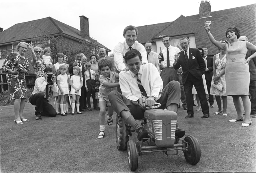 damon hill and graham hill