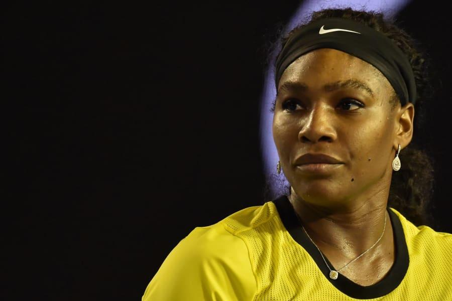 Serena face