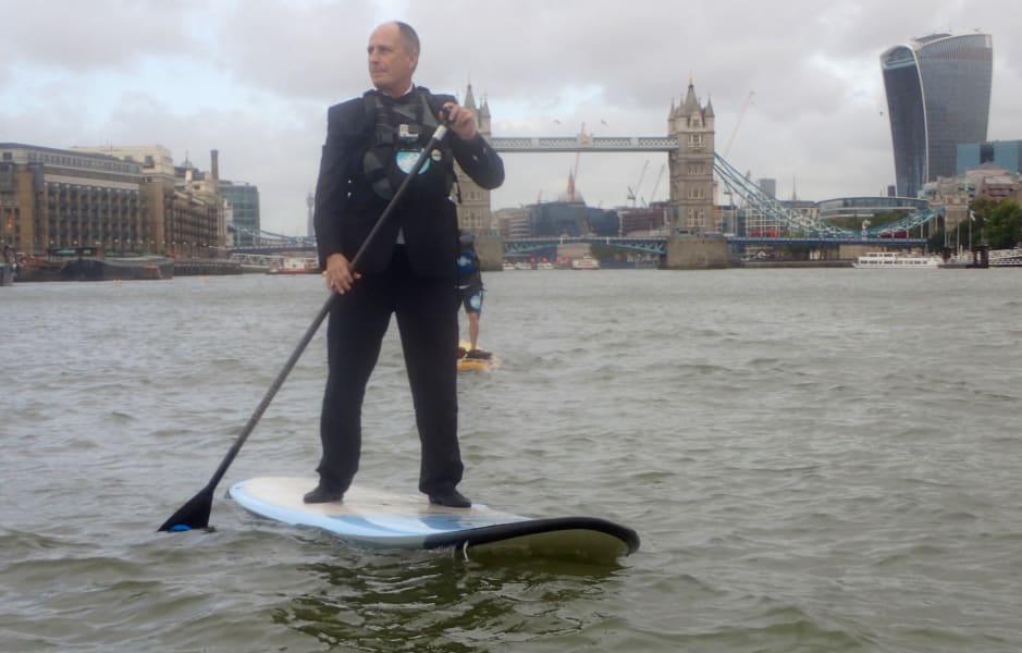 paddle boarding suit London