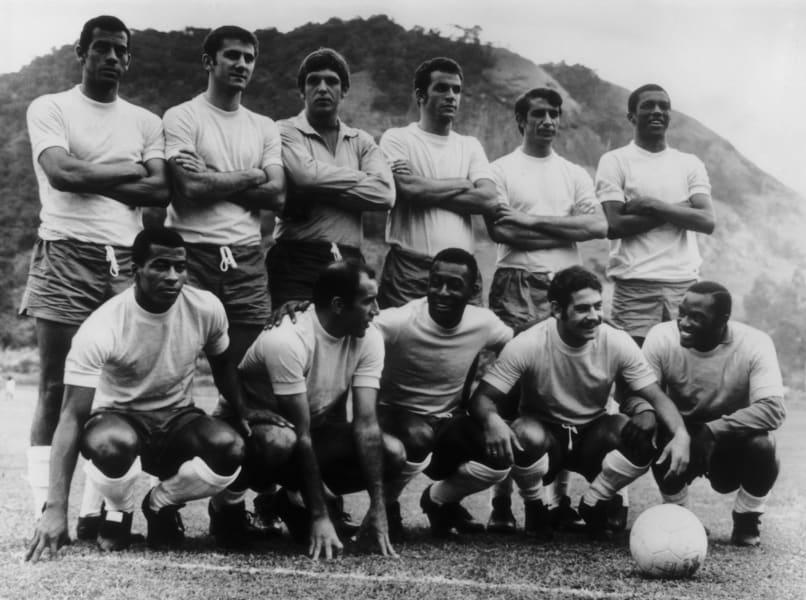 Brazil 1970 team Carlos Alberto pele