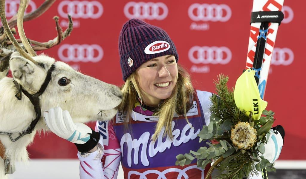levi skiing world cup reindeer gallery 5