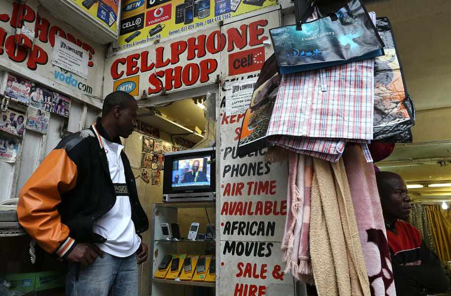africa mobile phone use 2