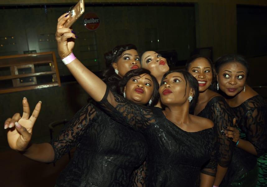 Africa mobile selfies