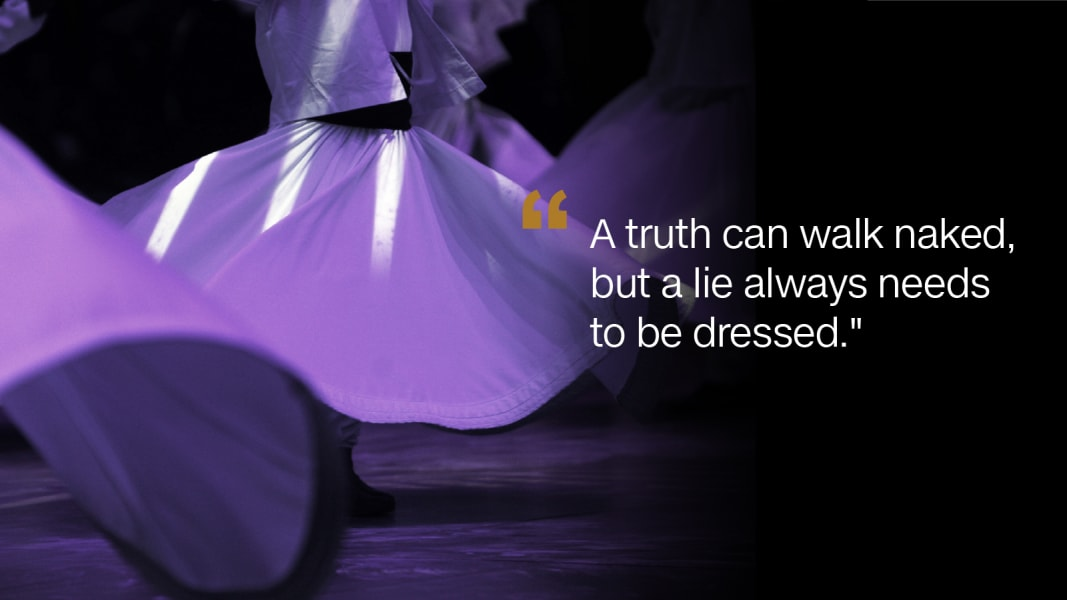 Rumi Quotes about Rain and Reflection