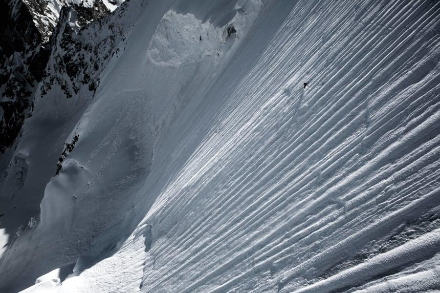 extreme skier jeremie heitz vertical drop