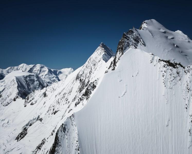 extreme skier jeremie heitz mountain face
