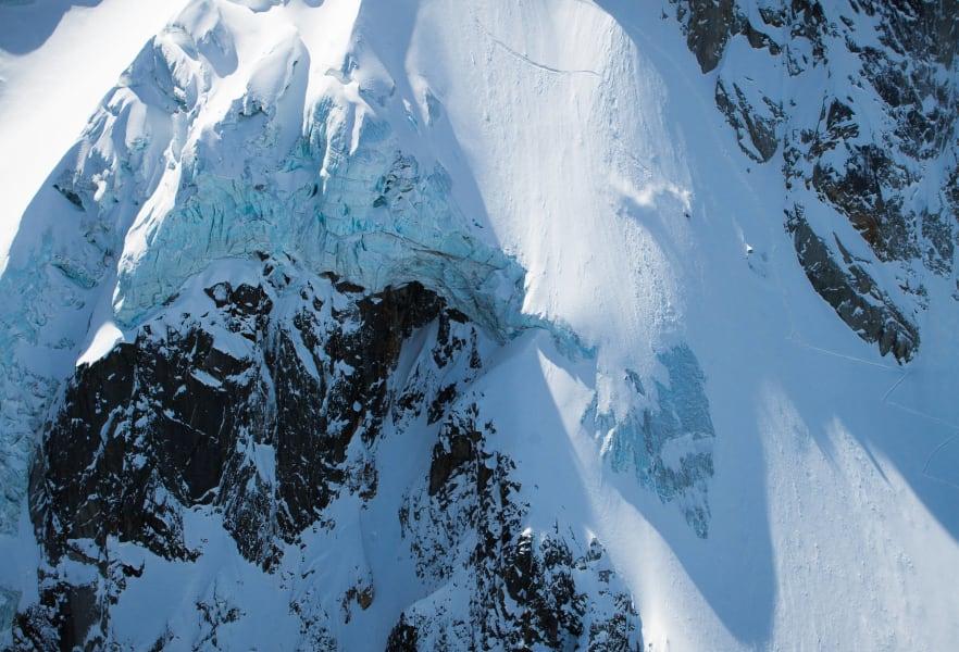extreme skier jeremie heitz big drop