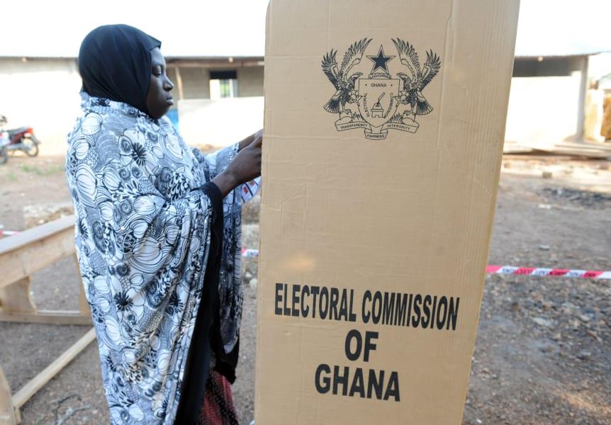ghana election vote 2012