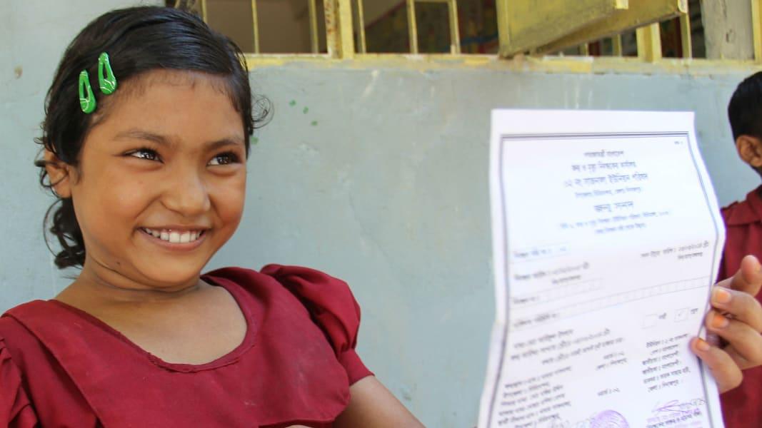 Birth certificate Resma