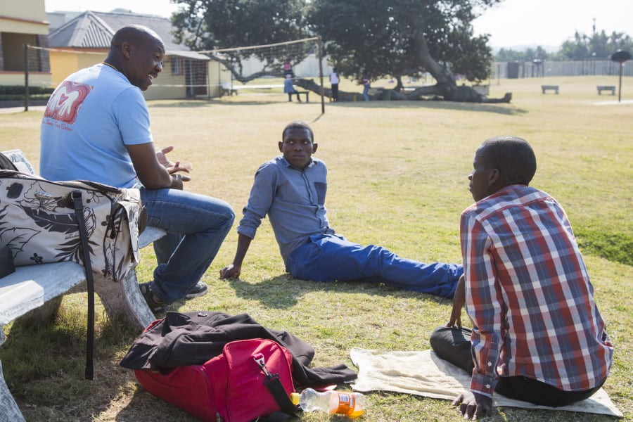 02 Teens born with HIV South Africa