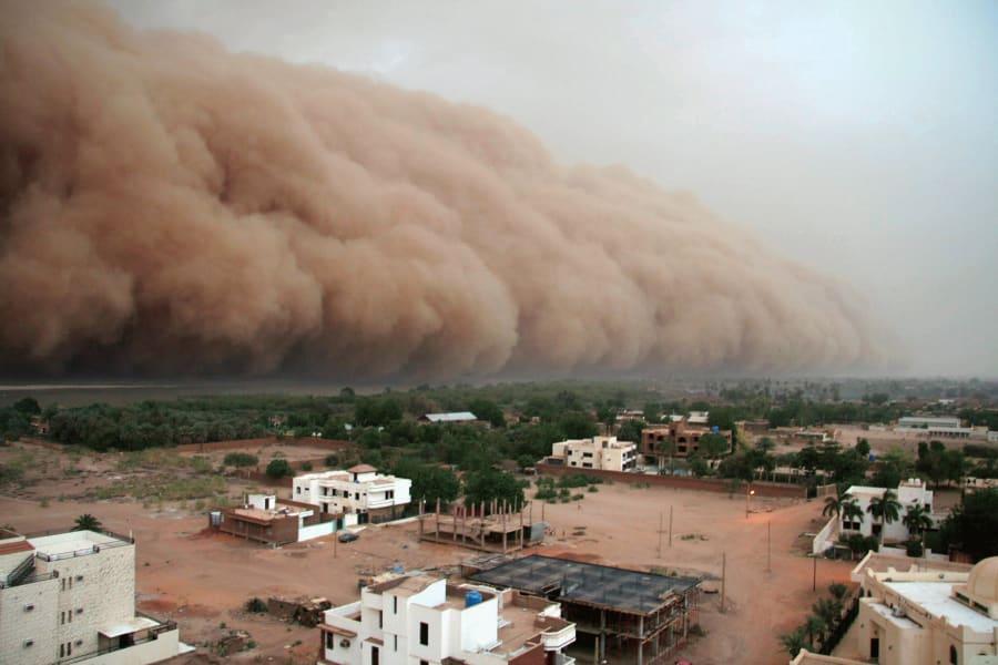 Sudan climate change haboob