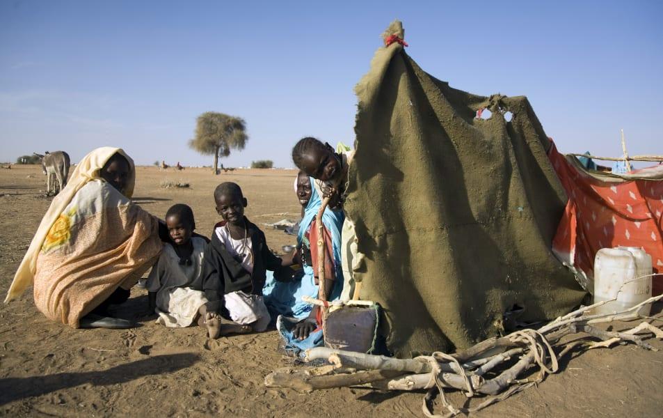 Sudan internally displaced people