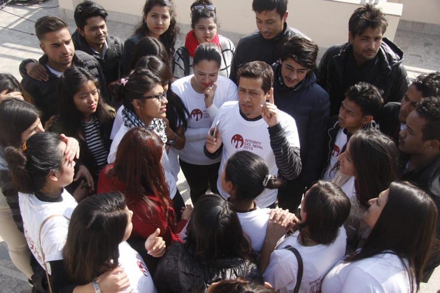 II Nepal volunteers
