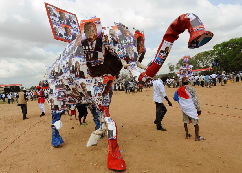 ghana elections 1