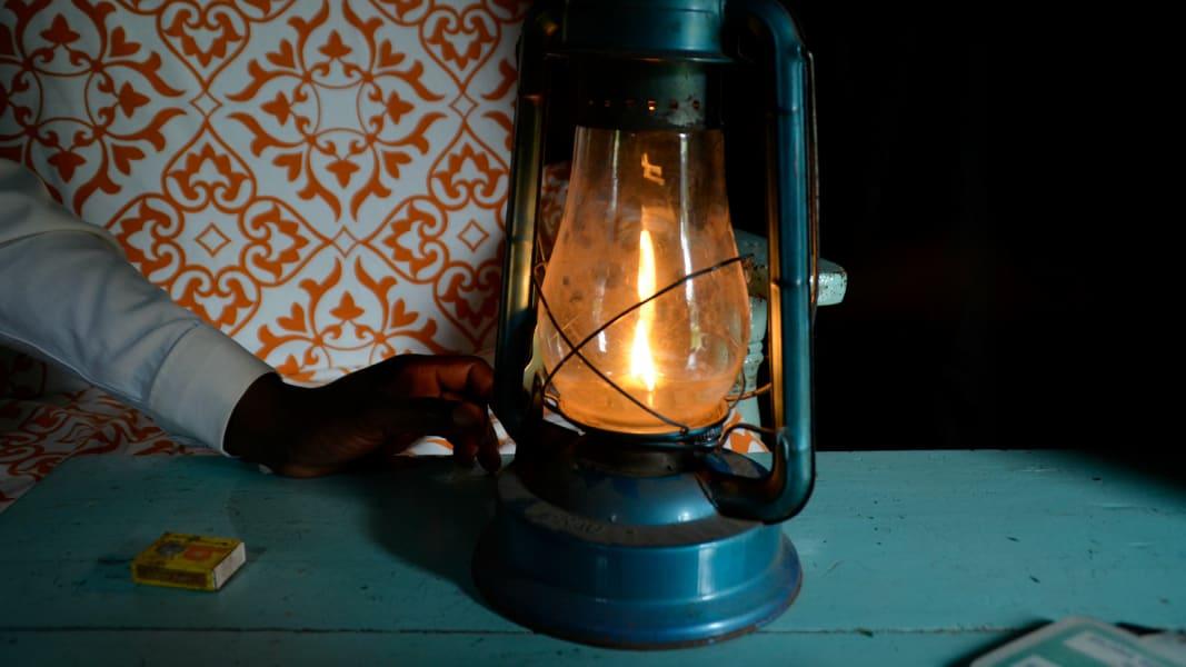 asu trine solar kerosene lamp