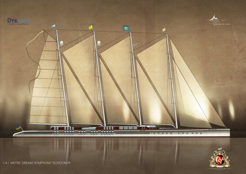 Dream Symphony superyacht