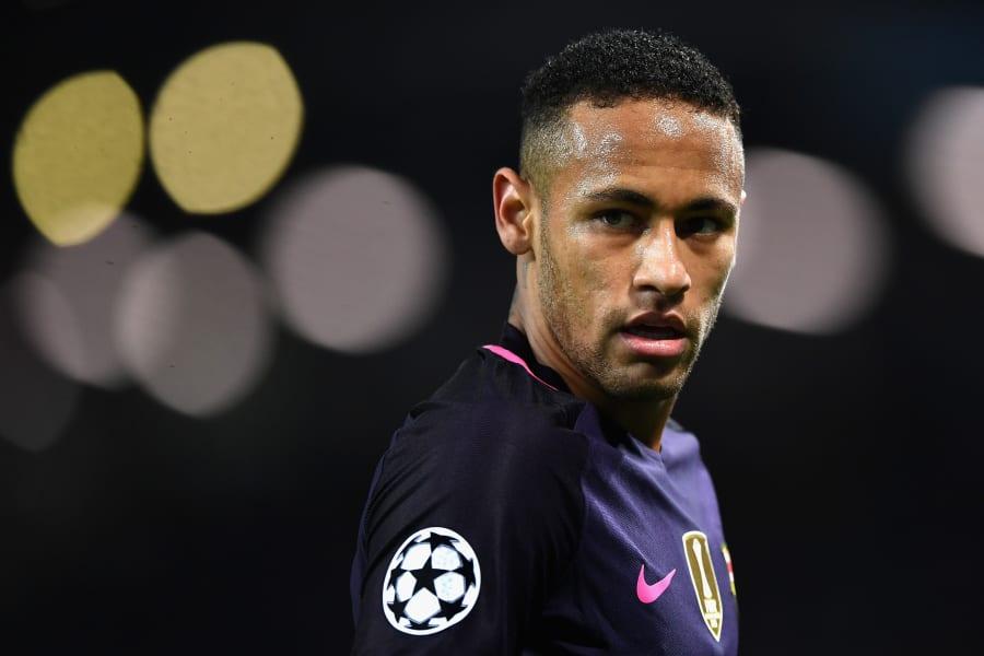 Neymar face