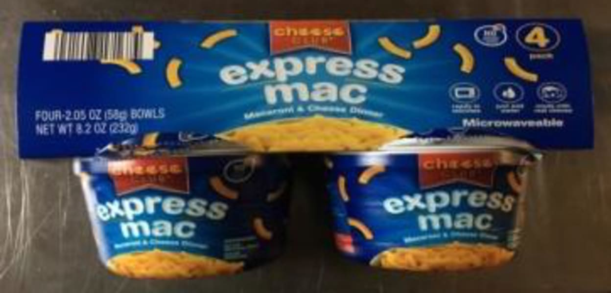 Cheese Club Express Mac Cheese 4 cup dinner