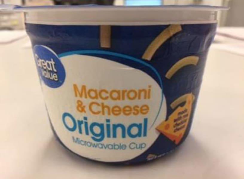 Great Value Macaroni Cheese Original Cups