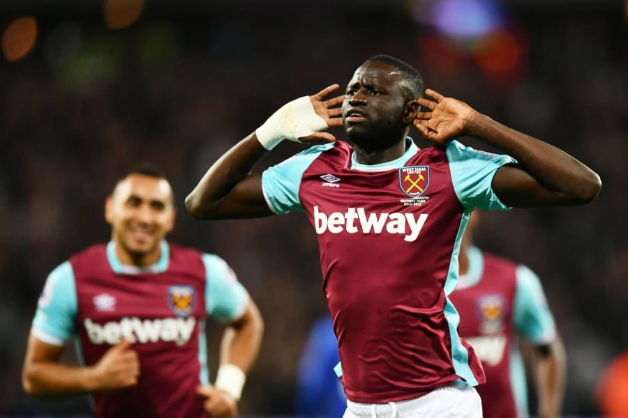 Cheikhou Kouyate Africa cup of nations