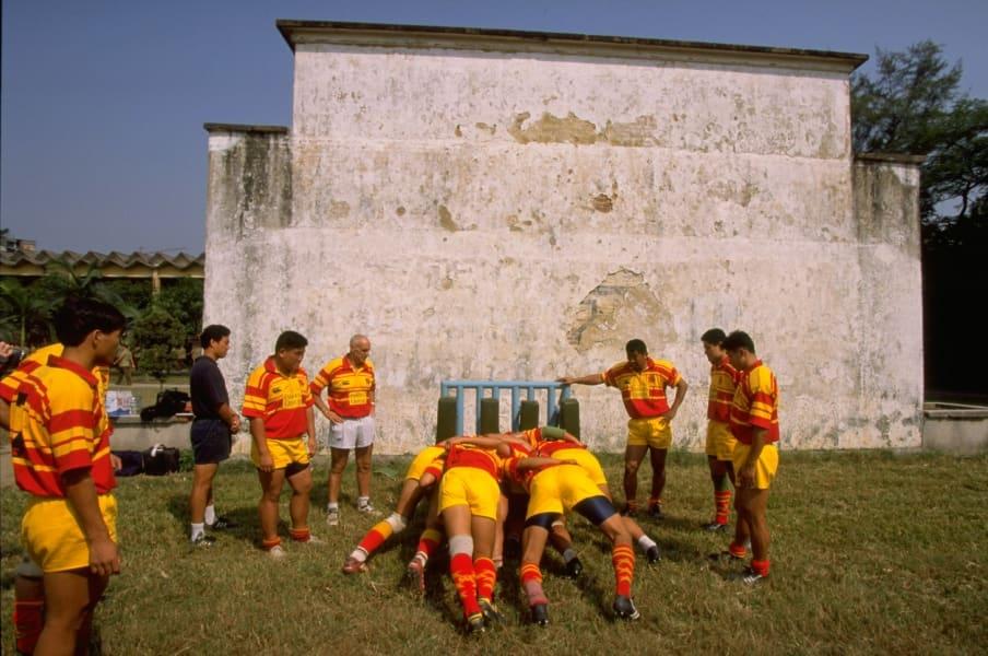 china rugby scrum machine