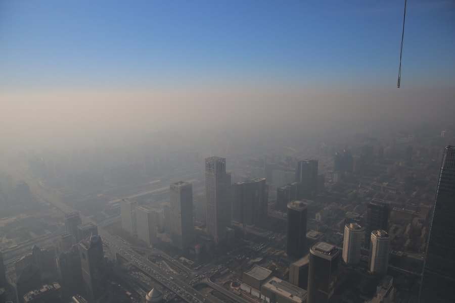 beijing smog dec 2016