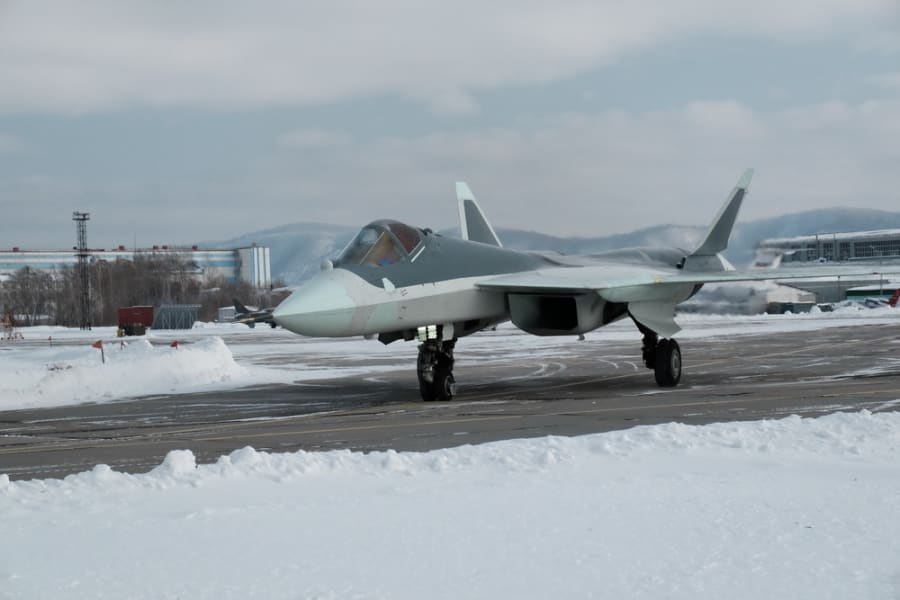 Russia T-50 fighter 2