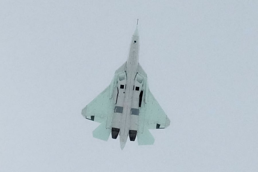 Russia T-50 fighter 8