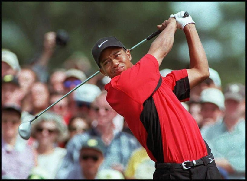 Tiger Woods Masters 1997