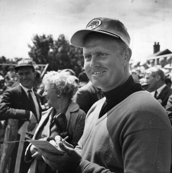 Jack Nicklaus early black and white